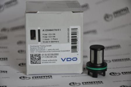 Фильтр клапана контроля объёма VDO для насоса VW A2C8494170080