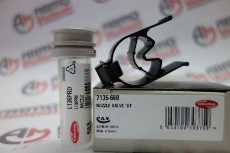 Ремкомплект форсунки CR 7135-660 (L136PRD)